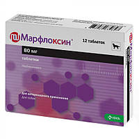 Марфлоксин 80 мг таблетки антибиотик №12 КРКА