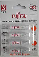 Аккумулятор ААА Fujitsu 1,2V 750-mAh eneloop (Ni-MH)