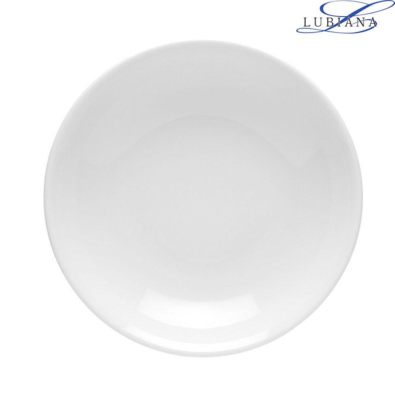 Тарелка фарфоровая глубокая Lubiana Hotel 200мм