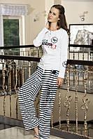 Женская пижама Shirly 5826, костюм домашний с повязкой на глаза для сна, фото 1