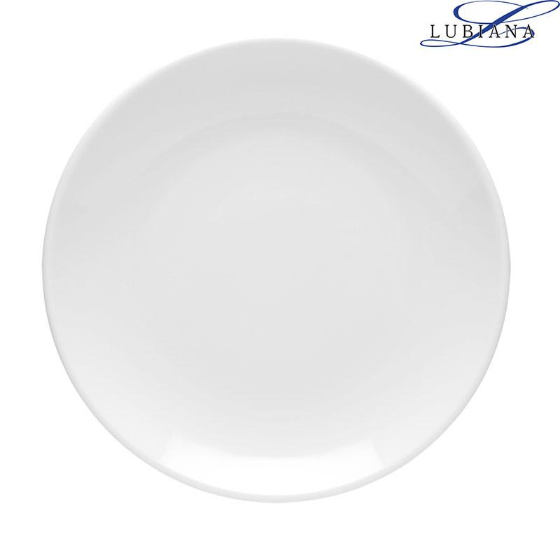 Тарелка фарфоровая глубокая Lubiana Hotel 230мм