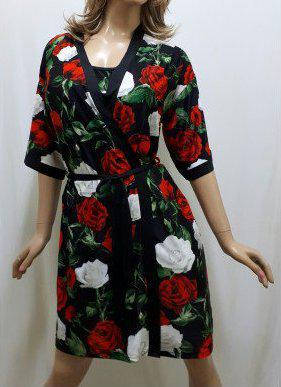 Халат и рубашка из микромасла с розами, от 44 до 50 р-ра, Харьков, фото 2