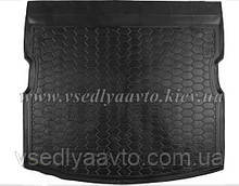 Коврик в багажник SSANG YONG Kyron без органайзера (AVTO-GUMM) пластик+резина