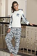 Женская пижама Shirly 5828, костюм домашний с повязкой на глаза для сна, фото 1