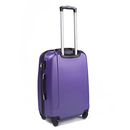 Чемодан большой пластиковый Gravitt из поликарбоната фиолетовый 100 л, фото 2