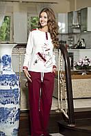 Женская пижама Shirly 5821, костюм домашний с повязкой на глаза для сна, фото 1
