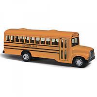 Автобус KS 6501 W, металл, инер-й, 16см, резин.колеса, открыв.двери, в кор-ке, 18, 5-12, 5-5, 5см