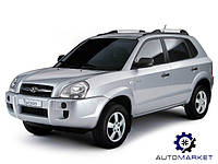 Фара правая черная Hyundai Tucson 2004-2013 (JM)