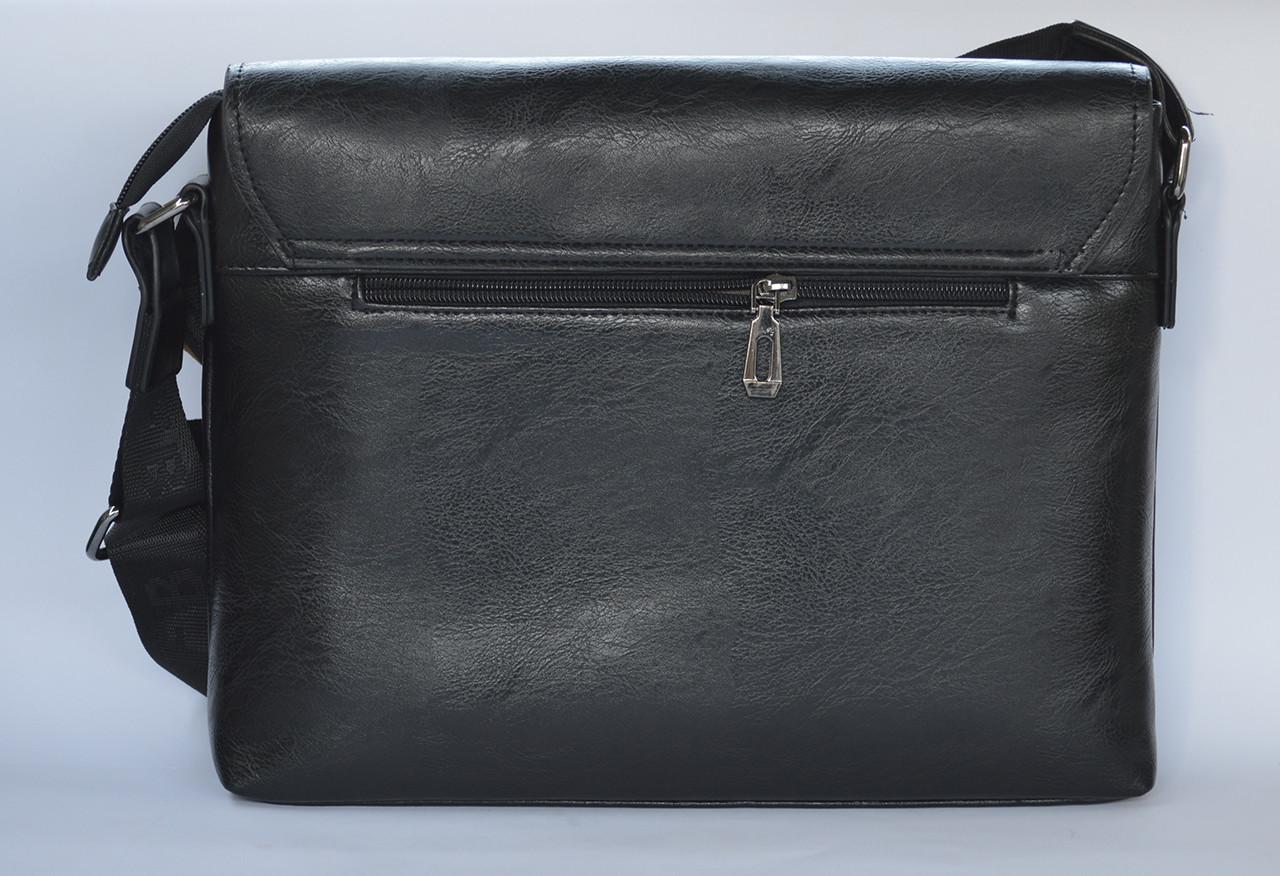 c8b6e6db9626 ... Мужская кожаная брендовая сумка через плечо для документов А4 портфель  POLO, ...