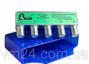 Комутатор DISEqC 4x1 Q-SAT DS-41K6