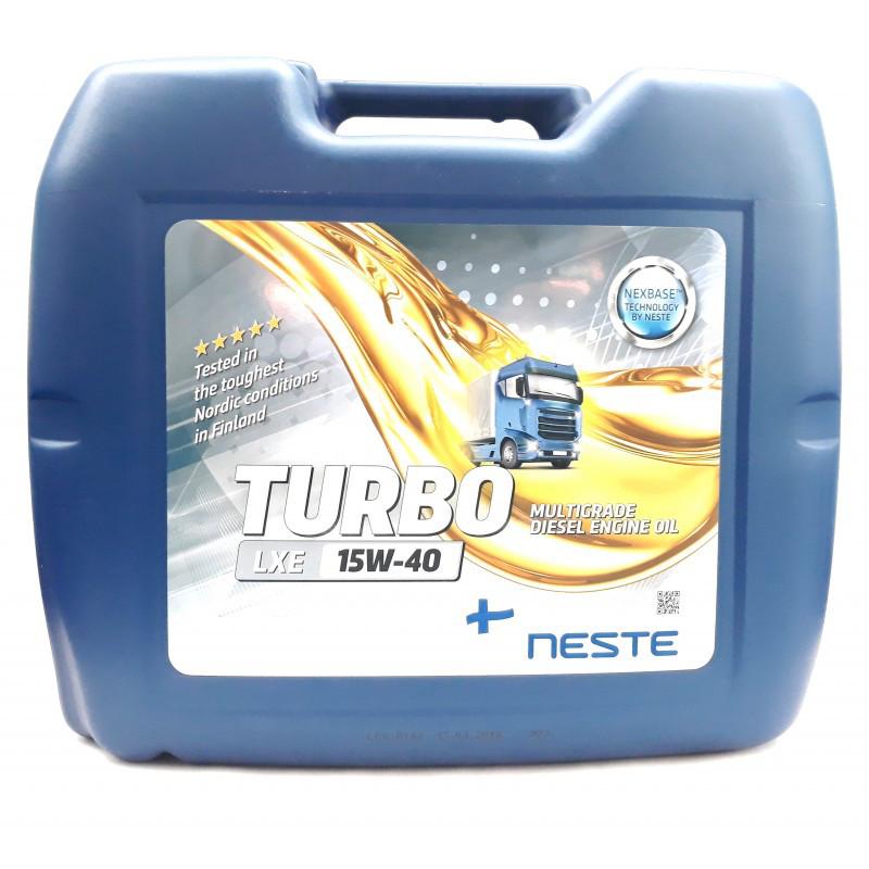NesteTurbo LXE15W40 (20л) Масло для грузового транспорта