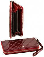 dc3650d98f26 Женский кожаный кошелек клатч Cossroll на молнии с ремешком Отличное  качество