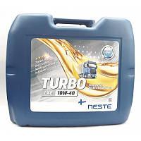 NesteTurbo LXE 10W-40 (20L) Cинтетическое дизельное моторное масло
