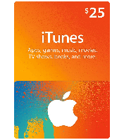 ITunes Gift Card 25$ (USA)