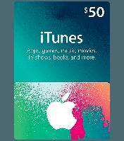 ITunes Gift Card 50$ (USA)