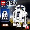 Конструктор Lepin 03073ABCD Роботы mini Wall-E, EVA, BB-8, R2-D2 (аналог Lego Star Wars) НАБОР из 4 шт, фото 5