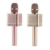 Беспроводной караоке микрофон MicGeekq Q10S Rose Gold