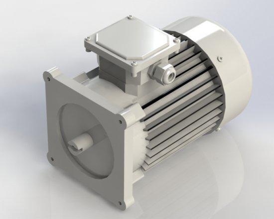 Электродвигатели переменного тока Hydro-Pack 2,2кВт, 220/380V, 1500 об / мин  А16