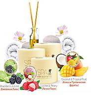 SPA масло для тела (антицеллюлитная серия Ламбре)- blackberry and lime - экстракт грейпфрута - 200мл