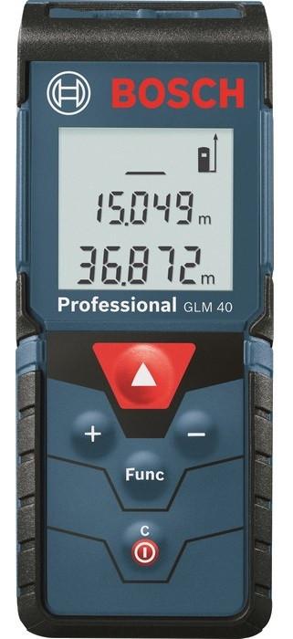 Лазерный Дальномер Bosch Далекомiр GLM 40 Prof.