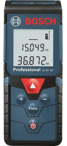 Лазерный Дальномер Bosch Далекомiр GLM 40 Prof., фото 2