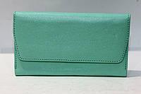 Салатовое компактное женское портмоне из натуральной кожи DEKOL (12835), фото 1