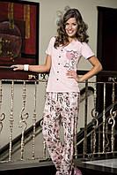 Женская пижама Shirly 5814, костюм домашний с повязкой на глаза для сна, фото 1