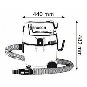 Промышленный Bosch GAS 20 L SFC, фото 2