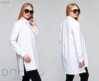 Женский костюм длиннач блузка с лосинами 2294