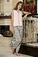 Женская пижама Shirly 5815, костюм домашний с повязкой на глаза для сна, фото 1