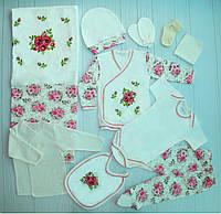 Подарочный набор для новорожденного 10 предметов (003248)