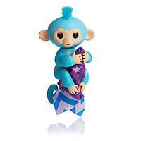 Блестящая обезьянка Fingerlings Glitter Амелия с одеялком!!! 100% Оригинал WowWee, фото 1