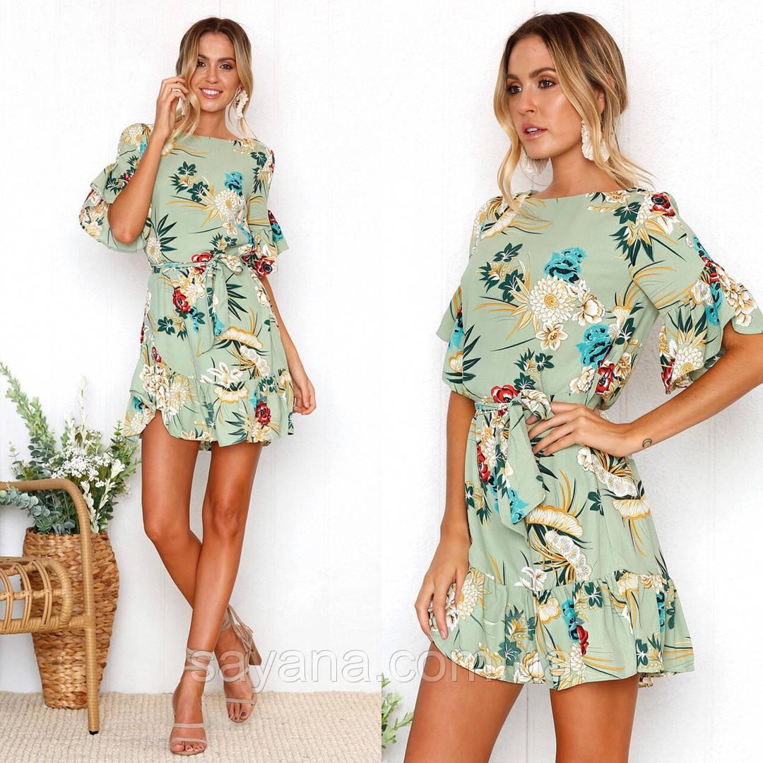 7095e99d8a1 Купить Женское шифоновое платье с принтом. СП-6-0718 недорого в ...
