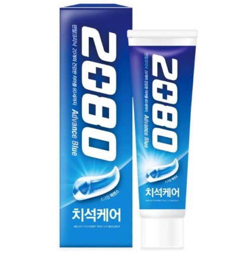 Aekyung 2080 Advance Blue Toothpaste Scrub Essence Отбеливающая зубная паста