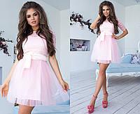 Шикарное вечернее  платье  пышное с фатиновой юбкой электрик