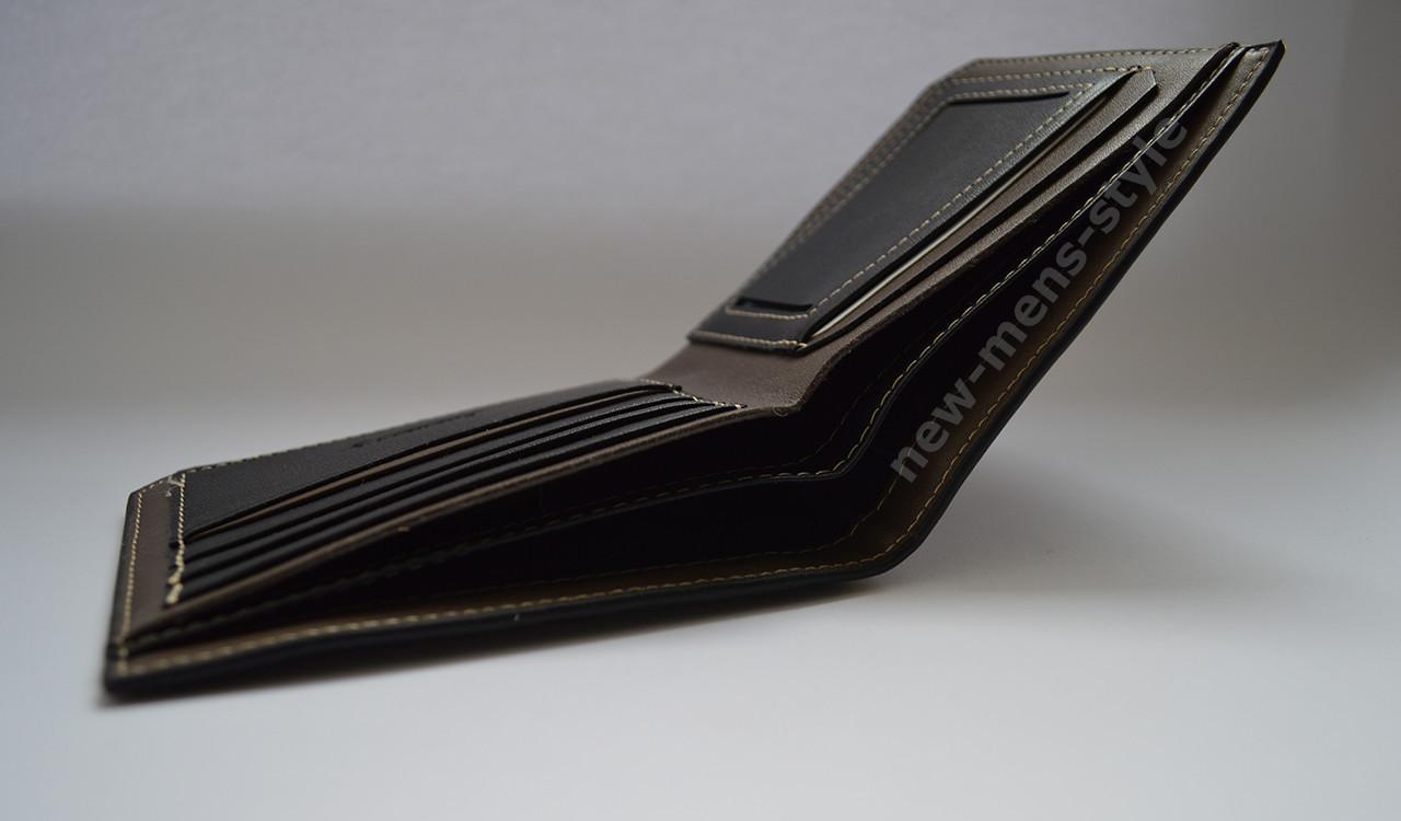 54dda44b5706 Мужской кожаный кошелек портмоне гаманець бумажник купить baellerry, ...