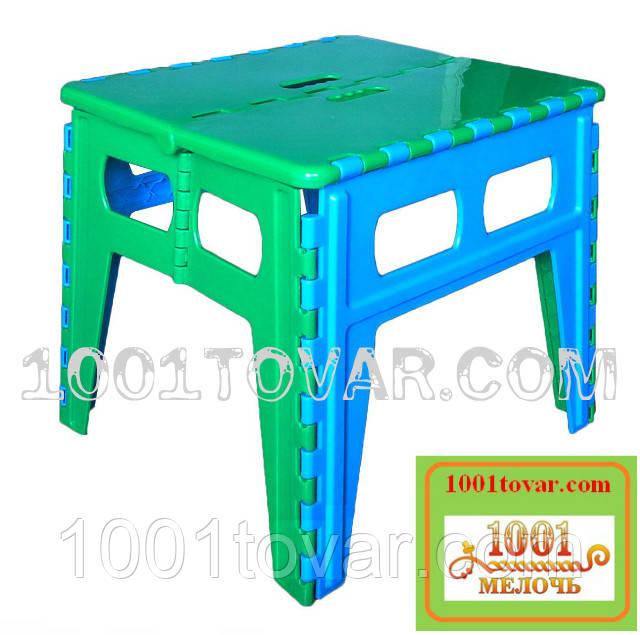 Складной пластиковый столик (без стульев). Розскладний стіл