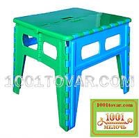 Складной пластиковый столик (без стульев). Розскладний стіл, фото 1