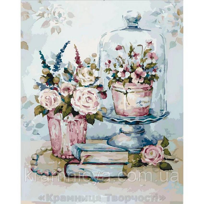 Картины по номерам Бирюзовый натюрморт, 40х50 (КНО2096)