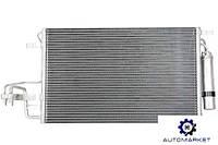 Радиатор кондиционера Hyundai Tucson 2004-2013 (JM), фото 1