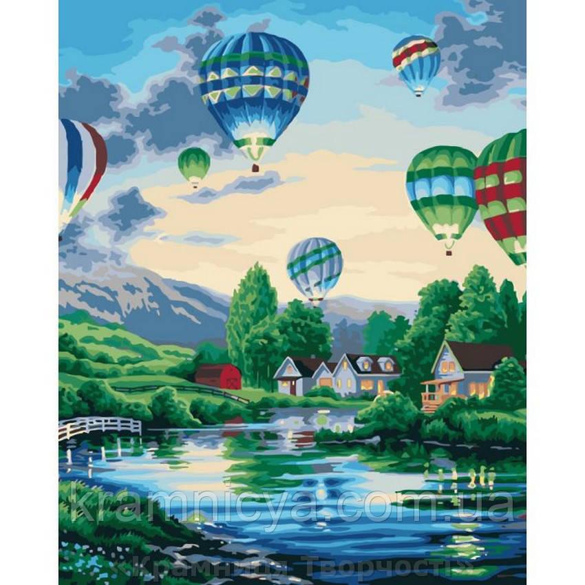 Картины по номерам Воздушные шары 2, 40х50 (КНО2221)