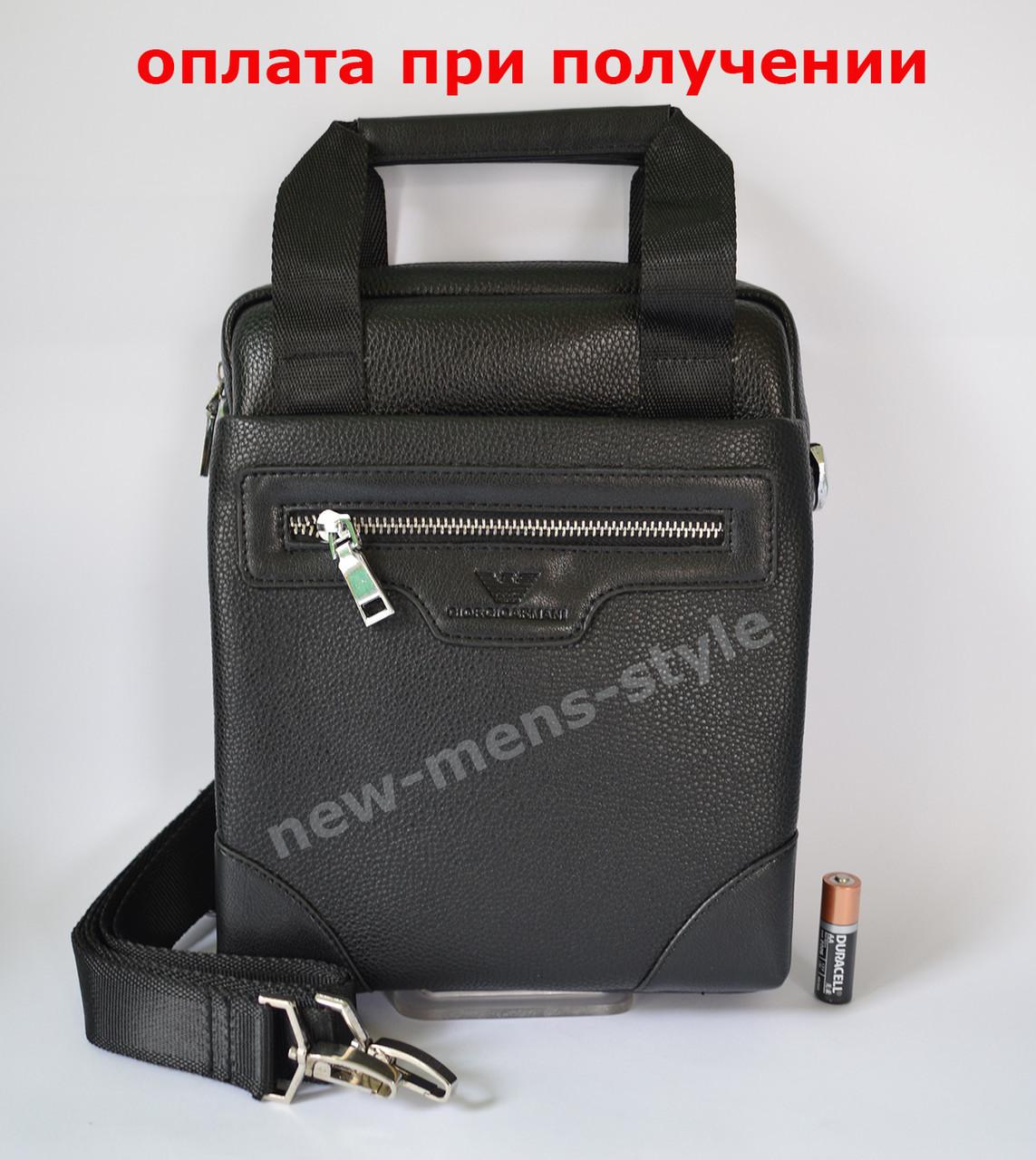 a14cbc1493be Мужская кожаная фирменная сумка барсетка Giorgio Armani Polo купить ...