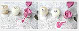Живопись по номерам Грация фламинго, 40х50 (КНО2446), фото 3