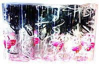 Резинка силиконовая в банке черно-белая