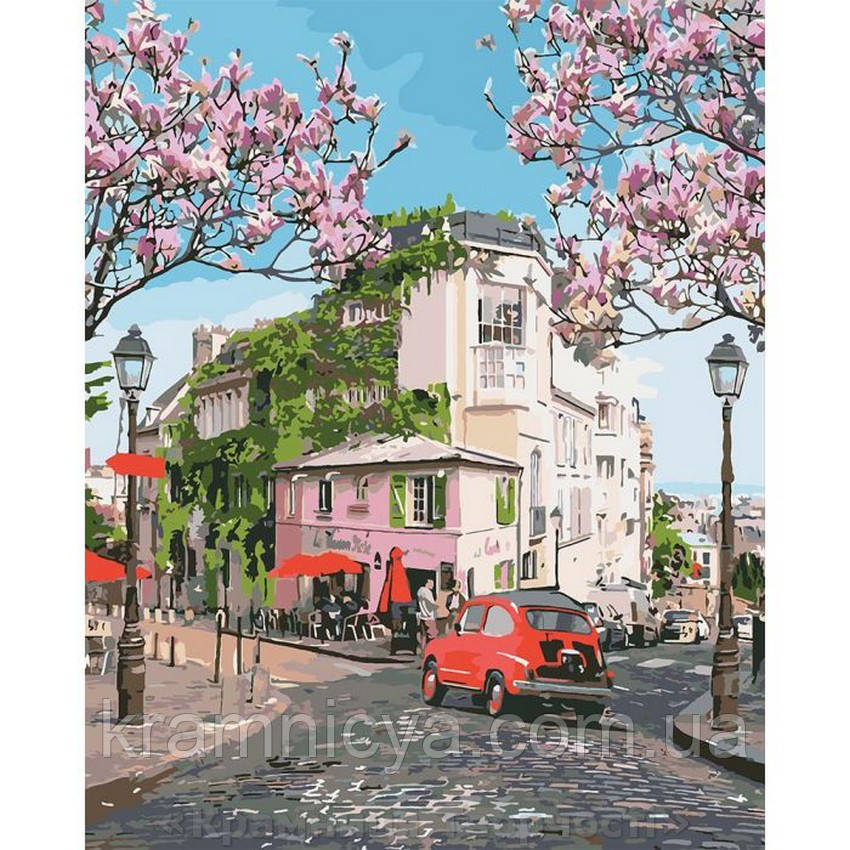 Картины по номерам Французское путешествие, 40х50 (КНО3500)