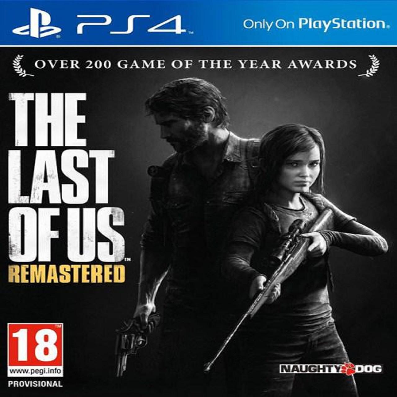 The Last of Us PS4 (російська версія) (Б/В)