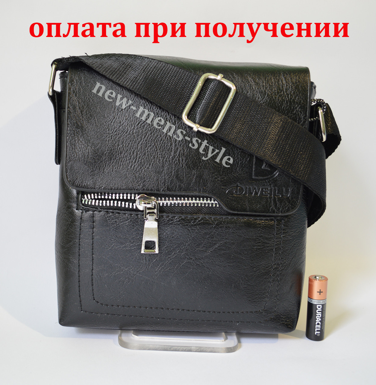 3be43166710e Мужская кожаная фирменная сумка барсетка DIWEILU Polo классика купить - На  Стиле в Бердянске