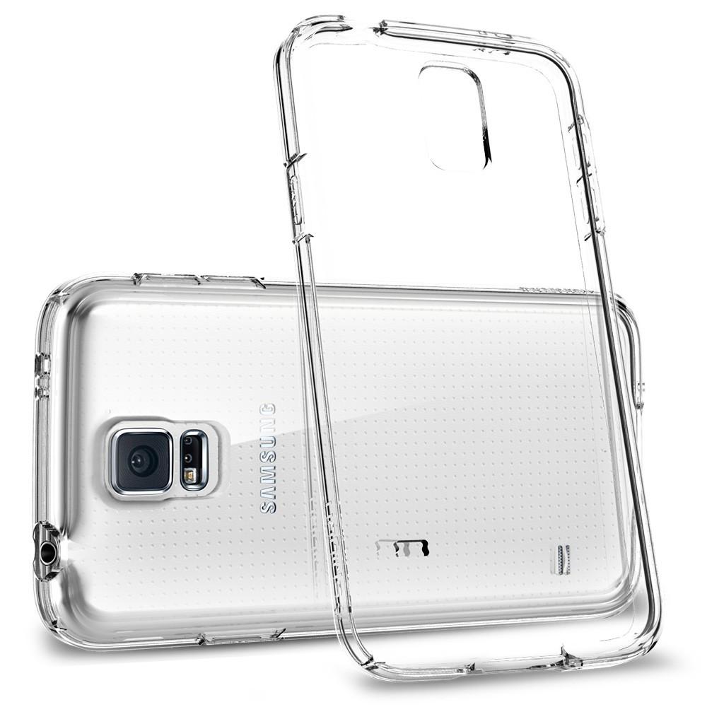 Чехол накладка Samsung Galaxy S5 (i9600) на заднюю панель силиконовый TPU прозрачный - Ваш интернет магазин № 1 в Киеве
