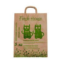 Fresh House (Фреш Хаус) Минеральный наполнитель зеленый 5кг 0,8-1,6мм мелкий