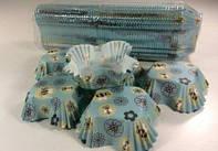 Одноразовые бумажные капсулы для выпечки, квадрат, код 92